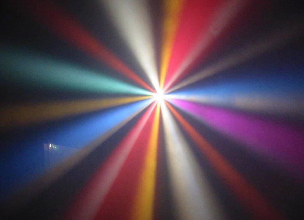 DJ Crispy Cape Town Effect Lighting