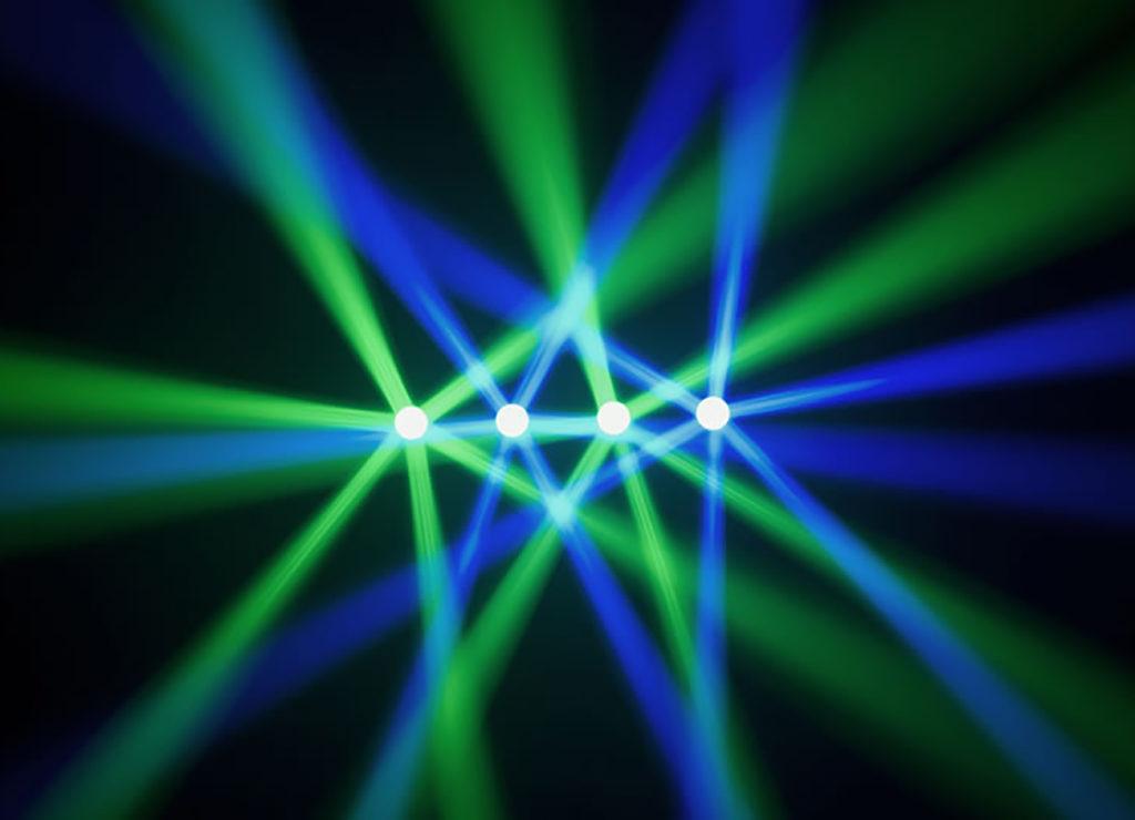 DJ Crispy Cape Town LED Lighting