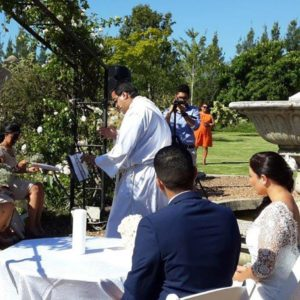 DJ Crispy Cape Town Wedding Ceremony Official