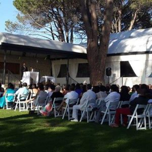 DJ Crispy Cape Town Wedding Ceremony Sound