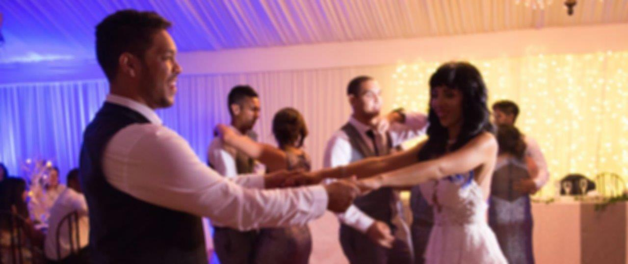 DJ Crispy Cape Town Wedding Reception First Dance