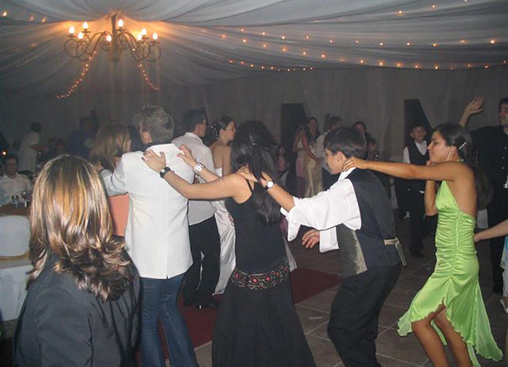 DJ Crispy Cape Town Wedding Reception Train