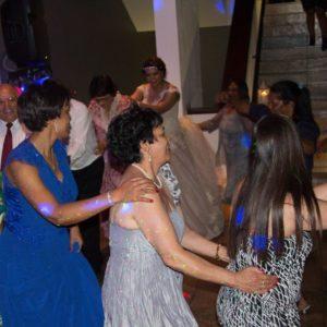 DJ Crispy Wedding Reception Dancing